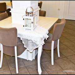 Kawiarnia Czekoladowa w Czechowicach - Dziedzicach: styl , w kategorii Gastronomia zaprojektowany przez BN STUDIO Barbara Wójcik