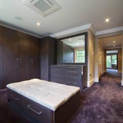 Hadley Wood Refurb:  Dressing room by The Wood Works