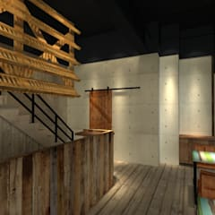 Bars & clubs by 東之光室內裝修設計有限公司
