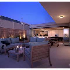 Costa Brava:  Patios by Make Architects + Interior Studio, Modern