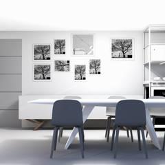 R&I: eclectische Eetkamer door MEL design_