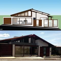 Projeto residencial,  Pimenta-MG: Casas  por Elessandra Arquitetura