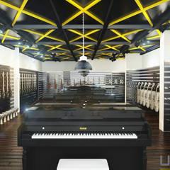 UDARIO İç Mimarlık – D.  Muzik Park :  tarz Sergi Alanları