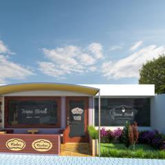 Remodelación de Oficinas LET´S Institute y Repostería Fina Teresa Morelli: Casas de estilo  por Arquitectura Positiva , Ecléctico