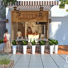 Remodelación de Restaurante Árabe Aceituna : Casas de estilo  por Arquitectura Positiva