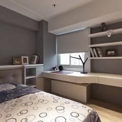 Bedroom by 大晴設計有限公司,