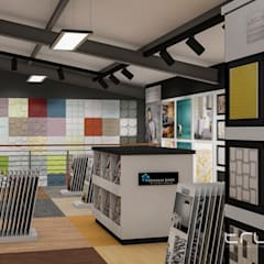 Allrounder Tiles: Additions:  Commercial Spaces by Truspace, Industrial