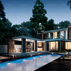 บ้านและที่อยู่อาศัย by BOOS architects