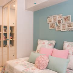 mediterranean Nursery/kid's room by Fran Clausell · Interiorismo Sostenible