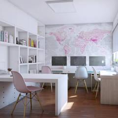 Study/office by A3D INFOGRAFIA