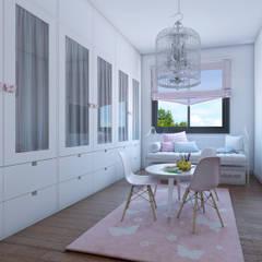 Nursery/kid's room by A3D INFOGRAFIA, Classic