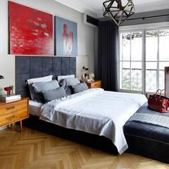 AA HOUSE EMIRGAN:  Bedroom by Esra Kazmirci Mimarlik