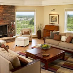 Ruang Keluarga oleh Lex Parker Design Consultants Ltd., Modern