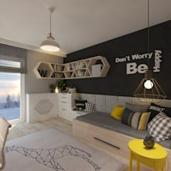 Nursery/kid's room by living box