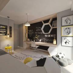 Nursery/kid's room by living box