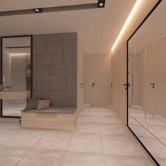 Mieszkanie w Maladze: styl , w kategorii Korytarz, przedpokój zaprojektowany przez living box