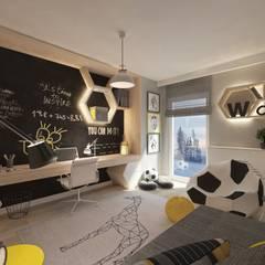 modern Nursery/kid's room by living box