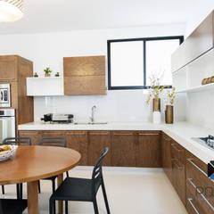 مطبخ تنفيذ PORTO Arquitectura + Diseño de Interiores,