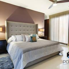 """""""PROYECTO LDZ26"""": Recámaras de estilo ecléctico por PORTO Arquitectura + Diseño de Interiores"""