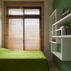 私人圖書館:  嬰兒房/兒童房 by 禾光室內裝修設計 ─ Her Guang Design