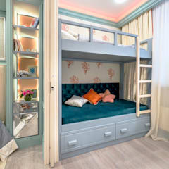 Nursery/kid's room by Школа Ремонта, Mediterranean