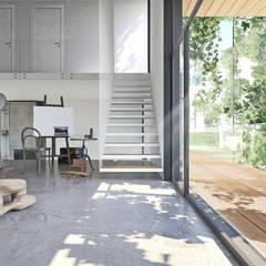 Casale D: Studio in stile  di DFG Architetti