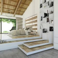 Dormitorios de estilo mediterraneo por DFG Architetti