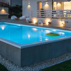 modern Pool by DFG Architetti