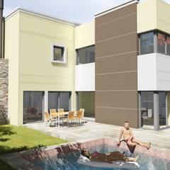 Vivienda Ayres de Santa Monica: Casas de estilo  por pablor.saravia,