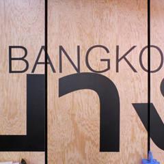 STREET BANGKOK LOCAL FOOD (VARLIN): Restaurants de style  par Damien Brambilla Architecte Sarl