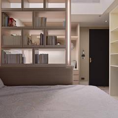 Bedroom by AIRS 艾兒斯國際室內裝修有限公司, Scandinavian