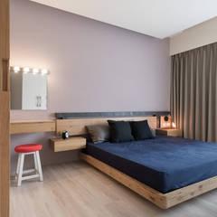 思維空間設計  : iskandinav tarz tarz Yatak Odası