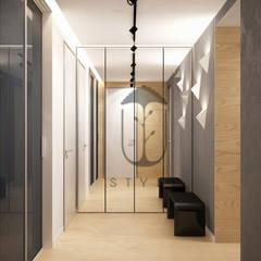 Стены в . Автор – U-Style design studio