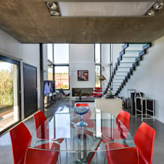 Dining room by Development Architectural group
