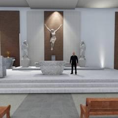 Lugares para eventos de estilo  por Arquitetura- Barreto