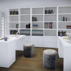 Studio di grafica e fotografia Avallone - Salerno: Studio in stile in stile Moderno di valentina cirillo architetto