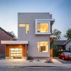 Fold Place:  Houses by Linebox Studio,