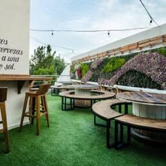 Jardines de estilo  por Arquitectura Orgánica Viviana Font