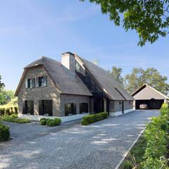 Woning Hanse:  Huizen door Vermeer Architecten b.v.