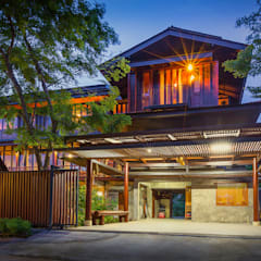 country Houses by บริษัท สถาปนิกชุมชนและสิ่งแวดล้อม อาศรมศิลป์ จำกัด