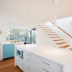The Hambly House:  Kitchen by dpai architecture inc