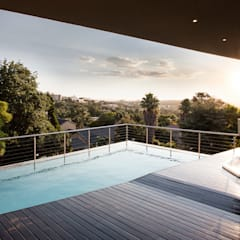 Home on a hill:  Pool by FRANCOIS MARAIS ARCHITECTS