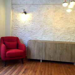 Mandalin Dizayn – Kuzguncuk Yuvam Apt. Komple Tadilat Projesi:  tarz Oturma Odası