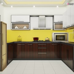Yagotimber's Modular Kitchen Design :  Kitchen by Yagotimber.com