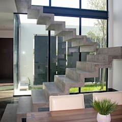 Corridor & hallway by Narda Davila arquitectura, Industrial