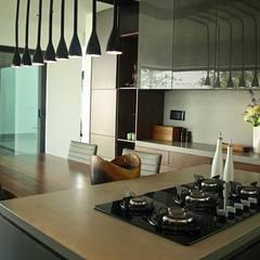 Cocinas de estilo  por Narda Davila arquitectura, Industrial