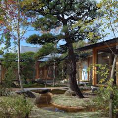 松山・今在家の家: 澤村昌彦建築設計事務所が手掛けた庭です。