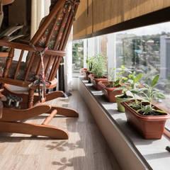 minimalistischer Garten von Kali Arquitetura