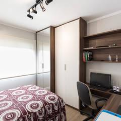ECP | Dormitório: Quartos  por Kali Arquitetura
