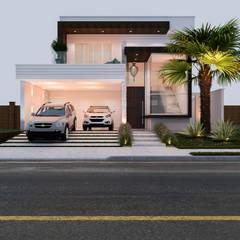 Residência C&T: Casas  por Daniele Galante Arquitetura